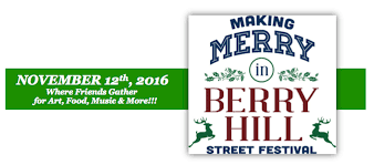 merry in berry hill festival presented by berry hill