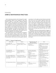 chapter 6 sample maintenance practices a guidebook for