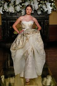 wedding gowns pictures 20 metallic wedding gowns for who crave that wow factor