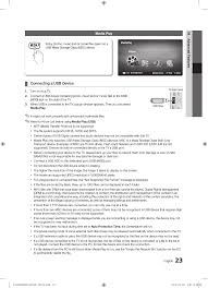 media play samsung le40c530f1w user manual page 23 153