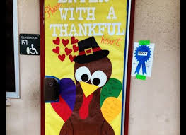 34 classroom door decorations for thanksgiving