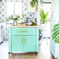 ikea kitchen cabinets on wheels farmhouse diy kitchen island an ikea hack a of
