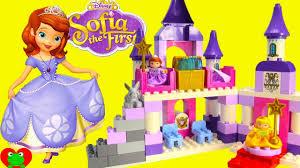 disney princess sofia royal castle lego duplo build