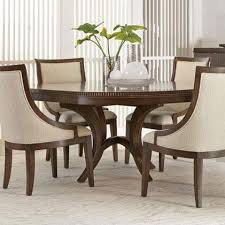 bernhardt beverly glen round dining table with fluted edge
