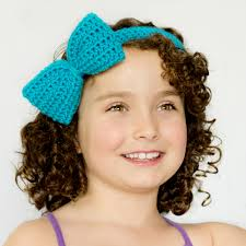 headband with bow hopeful honey craft crochet create bluebell headband bow