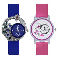 watches for buy frida analog casual multicolour combo of 2 watches for