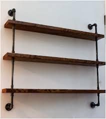 rustic industrial shelf brackets industrial shelves rustic home