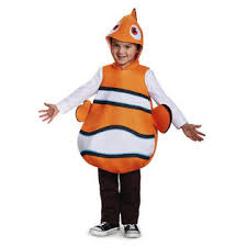 4t Halloween Costumes Disney Halloween Nemo Toddler Classic 2t 4t Costume Seasonal