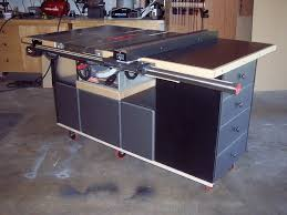 how to build a table saw workstation table saw workstation plans table saw work station jointech