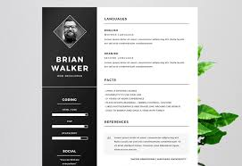 free resumes templates for microsoft word 50 eye catching cv templates for ms word free to