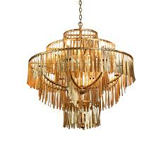 Traditional Chandeliers Gilded Cage Round Chandelier By Fisher Weisman Traditional