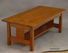 Craftsman Coffee Table Quartersawn Oak Mission Arts U0026 Crafts Craftsman Stickley Style