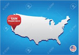 San Francisco California Map by Map Of San Francisco California Usa You Can See A Map Of Many