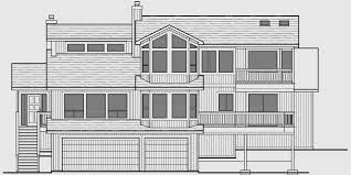 12 sloping lot house plans daylight basement luxury plans for with