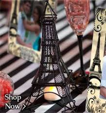 Paris Themed Party Supplies Decorations - eiffel tower 12 inches paper die cut decoration for your paris