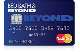 Bed Bath N Beyond Coupon Bed Bath U0026 Beyond Mastercard Credit Card