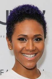 short hairstyles and cuts the color of the day purple twa