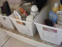 Basket Drawers For Bathroom 150 Dollar Store Organizing Ideas And Projects For The Entire Home