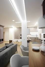lights for kitchen ceiling modern apartment kitchen full of lights apartment by azovskiy pahomova