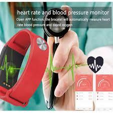 life bracelet app images Ky f1 pedometer fitness bracelet blood pressure women smart jpg
