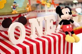 mickey mouse 1st birthday kara s party ideas letter block banner from a mickey mouse 1st