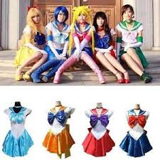 Halloween Costumes Sailor Moon Sailor Moon Costume Cosplay Uniform Fancy Party Dress U0026 Gloves