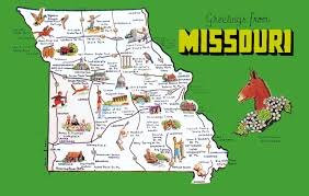 Zip Code Map Missouri by Missouri State Map Missouri Map