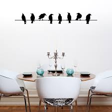 wall marvelous design of wall with birds bird prints for