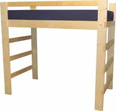 How To Build A Full Size Loft Bed With Desk by Loft Bed U0026 Bunk Beds For Home U0026 College Made In Usa