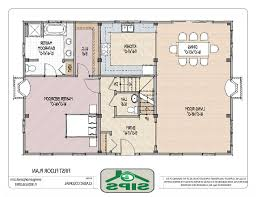 Floor Plan For Small House by Small Open Plans House Small House Open Floor Plan Home Design
