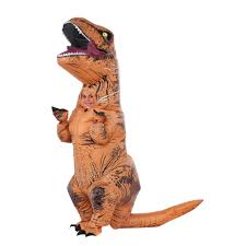 jurassic world inflatable t rex child costume 345942