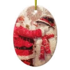vintage snowman ornaments keepsake ornaments zazzle