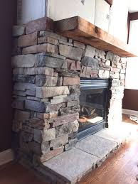 fireplace stone 89 best half wall stone fireplaces images on pinterest fire