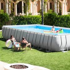 intex ultra frame above ground swimming pool set buying guide