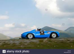 blue porsche spyder porsche 550 stock photos u0026 porsche 550 stock images alamy