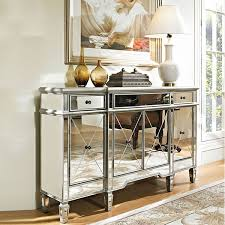 Mirror Console Table Mirrored Console Table