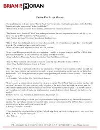 the 12 week year book praise for brian