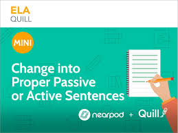 Change Active Voice To Passive Voice Worksheets Sentences From Passive To Active Voice