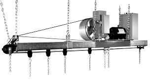 Stage Curtain Track Hardware by Flying Machines Automatic Devices Company
