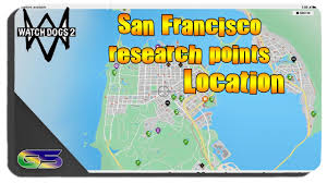 Union Square San Francisco Map by Watch Dogs 2 All San Francisco Research Point Locations Youtube