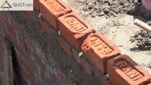 constructing a half brick 4 inches wall hindi ह न द