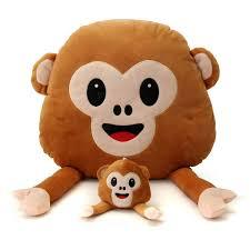gardening emoji monkey emoji emoticon throw plush stuffed toy doll decor gift sale