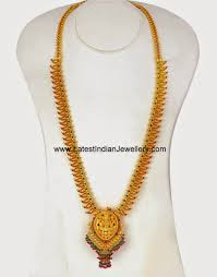 Home Trends And Design Mango by Jewellery Designs Gundla Mala 60 Grams Gundla Mala
