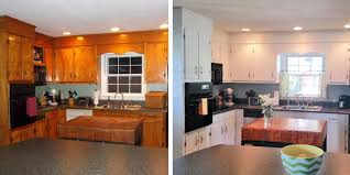 Win A Free Kitchen Makeover - 10 diy kitchen cabinet makeovers before u0026 after photos that