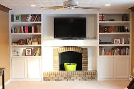 gorgeous remodelaholic fireplace remodel with built in bookshelves