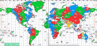 utc zone map zone map utc topographic map