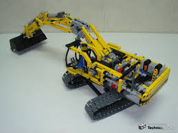 lego technic bucket wheel excavator technicbricks tbs techreview 10 u2013 8043 motorized excavator