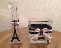 Paris Centerpieces Eiffel Tower Centerpiece With Butterflies And Flowers For A
