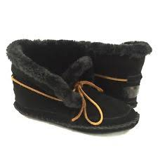 womens moccasin boots size 12 fur moccasin boots ebay
