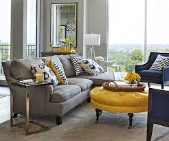 Mustard Yellow Ottoman Best 25 Yellow Ottoman Ideas On Pinterest Living Room Intended For
